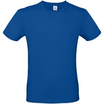 vaatteet Miehet Lyhythihainen t-paita B And C TU01T Royal Blue