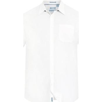 vaatteet Miehet Lyhythihainen paitapusero Duke  White