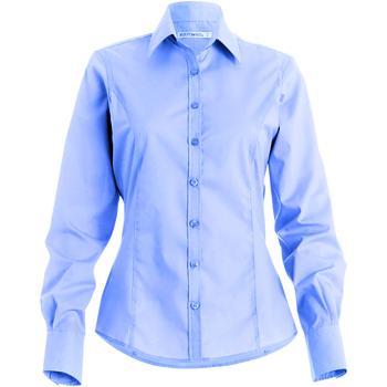 vaatteet Naiset Paitapusero / Kauluspaita Kustom Kit Business Light Blue