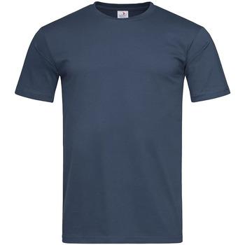vaatteet Miehet Lyhythihainen t-paita Stedman  Navy