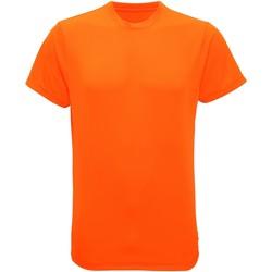 vaatteet Miehet Lyhythihainen t-paita Tridri TR010 Lightning Orange