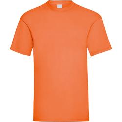 vaatteet Miehet Lyhythihainen t-paita Universal Textiles 61036 Bright Orange