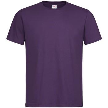 vaatteet Miehet Lyhythihainen t-paita Stedman  Deep Berry
