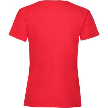 vaatteet Tytöt Lyhythihainen t-paita Fruit Of The Loom Valueweight Red