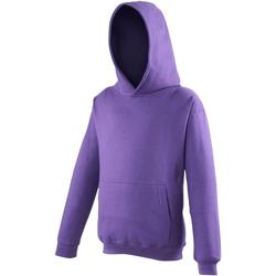 vaatteet Lapset Svetari Awdis JH01J Purple