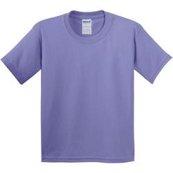 vaatteet Lapset Lyhythihainen t-paita Gildan 5000B Violet