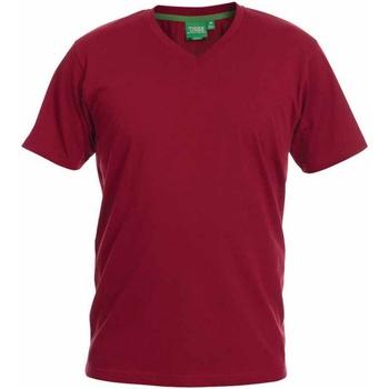 vaatteet Miehet Lyhythihainen t-paita Duke  Red