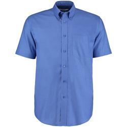 vaatteet Miehet Lyhythihainen paitapusero Kustom Kit KK350 Italian Blue