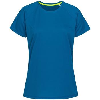 vaatteet Naiset Lyhythihainen t-paita Stedman  Blue
