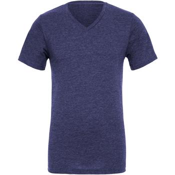 vaatteet Miehet Lyhythihainen t-paita Bella + Canvas CA3005 Navy Blue