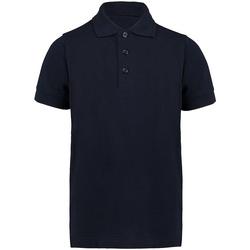 vaatteet Pojat Lyhythihainen poolopaita Kustom Kit KK406 Navy Blue
