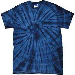 vaatteet Lyhythihainen t-paita Colortone Tonal Spider Navy