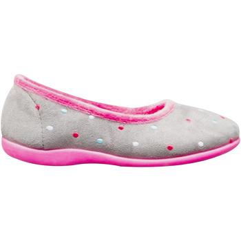 kengät Naiset Tossut Sleepers  Grey/Fuchsia