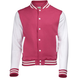 vaatteet Miehet Pusakka Awdis JH043 Hot Pink / White