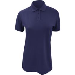 vaatteet Naiset Lyhythihainen poolopaita Kustom Kit Klassic Navy Blue