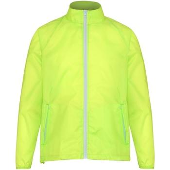 vaatteet Miehet Tuulitakit 2786 TS011 Yellow/ White
