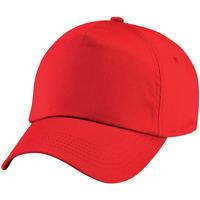 Asusteet / tarvikkeet Lapset Lippalakit Beechfield BC10B Bright Red