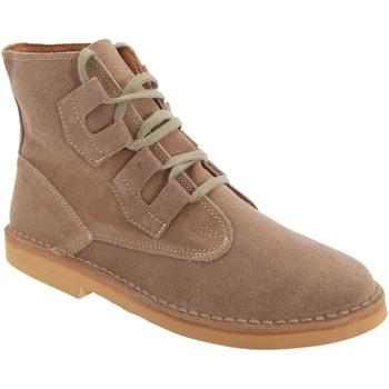 kengät Miehet Bootsit Roamers  Dark Taupe