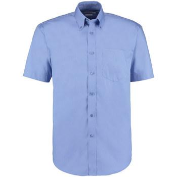vaatteet Miehet Lyhythihainen paitapusero Kustom Kit KK109 Mid Blue