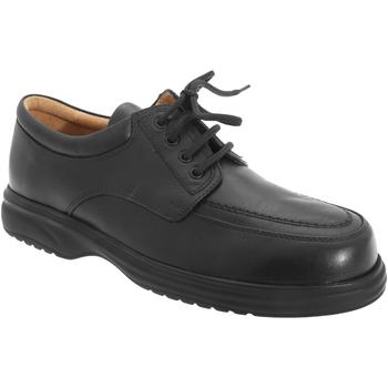 kengät Miehet Derby-kengät Roamers Superlite Black