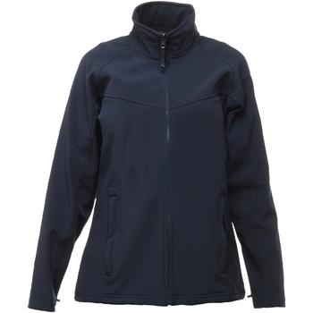 vaatteet Naiset Tuulitakit Regatta TRA645 Navy/Navy