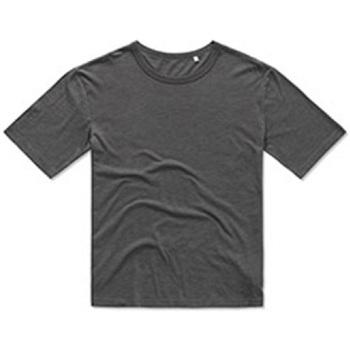 vaatteet Miehet Lyhythihainen t-paita Stedman Stars  Slate Grey