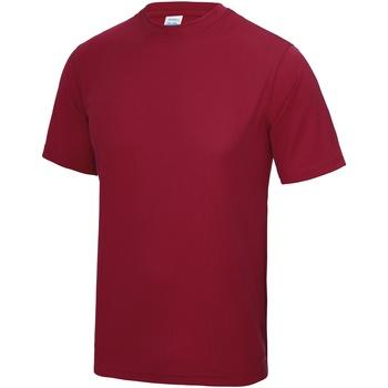 vaatteet Miehet Lyhythihainen t-paita Awdis JC001 Red hot Chilli
