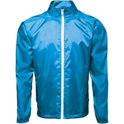 vaatteet Miehet Tuulitakit 2786  Sapphire/ White