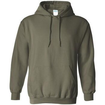 vaatteet Svetari Gildan 18500 Military Green