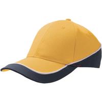 Asusteet / tarvikkeet Lippalakit Atlantis Racing Yellow/Navy