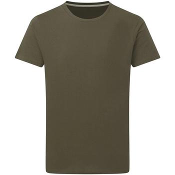 vaatteet Miehet Lyhythihainen t-paita Sg Perfect Military Green