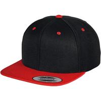Asusteet / tarvikkeet Lippalakit Yupoong YP002 Black/ Red