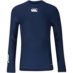 vaatteet Lapset T-paidat pitkillä hihoilla Canterbury CN360B Navy