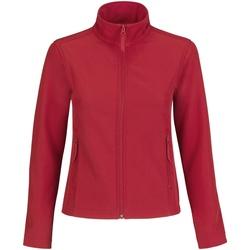 vaatteet Naiset Fleecet B And C JWI63 Red/ Grey