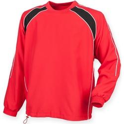 vaatteet Miehet Ulkoilutakki Finden & Hales LV845 Red/ Black/ White