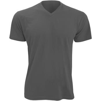 vaatteet Miehet Lyhythihainen t-paita Sols 11150 Dark Grey
