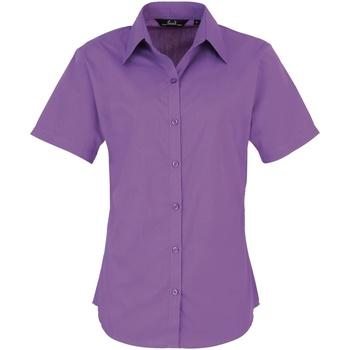 vaatteet Naiset Paitapusero / Kauluspaita Premier PR302 Rich Violet