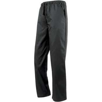 vaatteet Väljät housut / Haaremihousut Premier  Black
