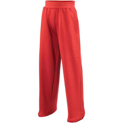 vaatteet Lapset Verryttelyhousut Awdis JH71J Fire Red