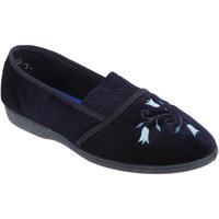 kengät Naiset Tossut Sleepers Inez Navy Blue