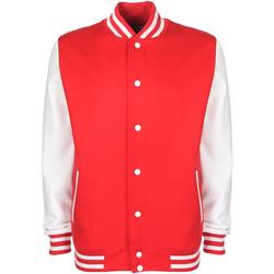 vaatteet Miehet Pusakka Fdm FV001 Fire Red/White