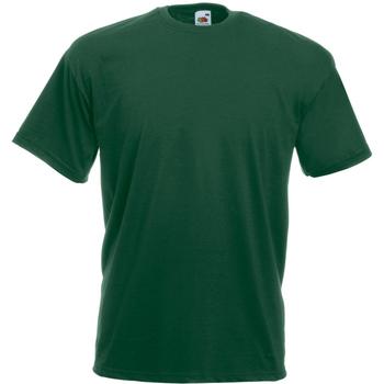 vaatteet Miehet Lyhythihainen t-paita Universal Textiles 61036 Dark Green