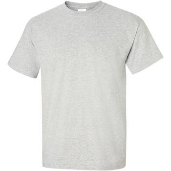 vaatteet Miehet Lyhythihainen t-paita Gildan Ultra Ash Grey