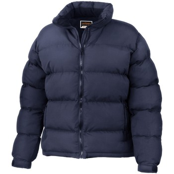 vaatteet Naiset Toppatakki Result R181F Navy Blue