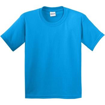 vaatteet Lapset Lyhythihainen t-paita Gildan 64000B Saphire