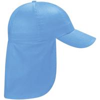 Asusteet / tarvikkeet Lapset Lippalakit Beechfield BC11B Sky Blue