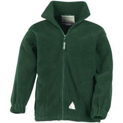 vaatteet Lapset Fleecet Result R36JY Forest Green