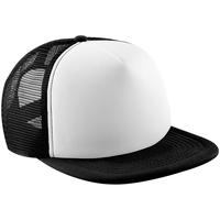 Asusteet / tarvikkeet Lapset Lippalakit Beechfield B645B Black/White