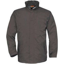 vaatteet Miehet Tuulitakit B And C BA675 Dark Grey