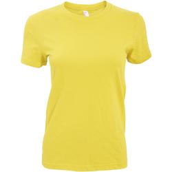 vaatteet Naiset Lyhythihainen t-paita American Apparel AA003 Sunshine